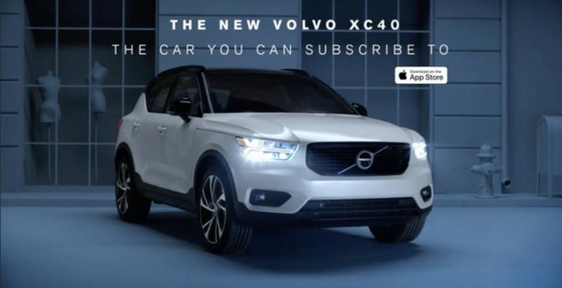 Volvo Subscription Ad