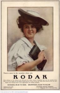 Old Kodak Vacation Ad
